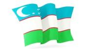 Флаги и флажки Республики Узбекистан