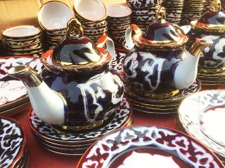 Чайники из Узбекистана