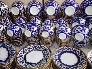 Посуда из Риштана