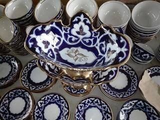 Узбекская ваза для фруктов