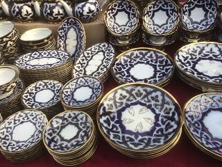 Узбекские ляганы, салатницы, тарелки