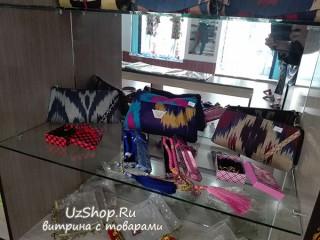 Женские кошельки и чётки. Узбекистан