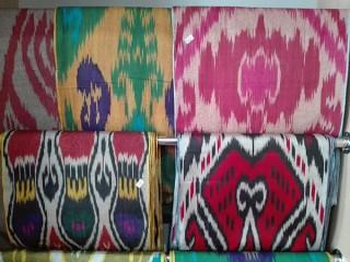 Узбекские ткани: атлас и адрас