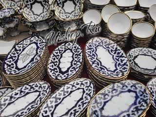 Овальная посуда из Узбекистана