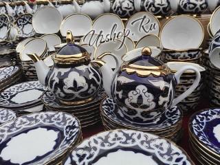 Узбекские керамические чайники