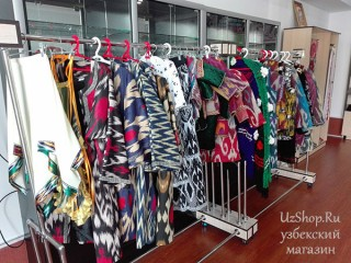 Узбекские женские платья
