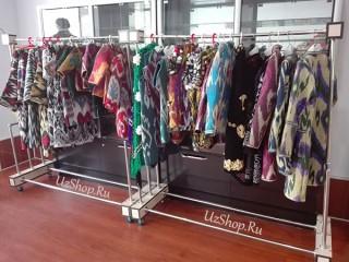 Женские платья из Узбекистана