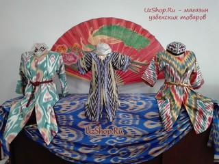 Узбекские платья из адраса