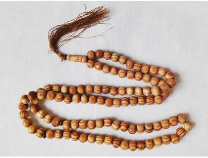 Перекидные чётки из дерева Зайтун