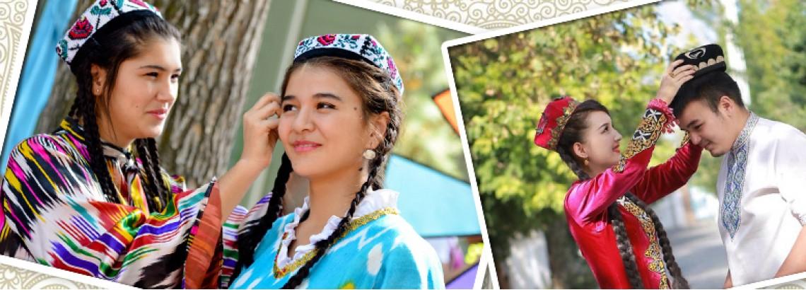 Узбекские тюбетейки
