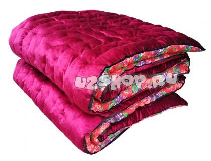 Бархатная курпача розовая